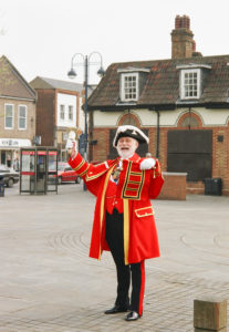 Town Crier in St Neots
