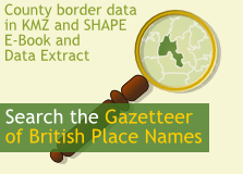 Search the Gazetteer of British Place Names