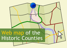 Web Map of the Historic Counties