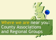 Where we are near you: County Associations and Regional Groups