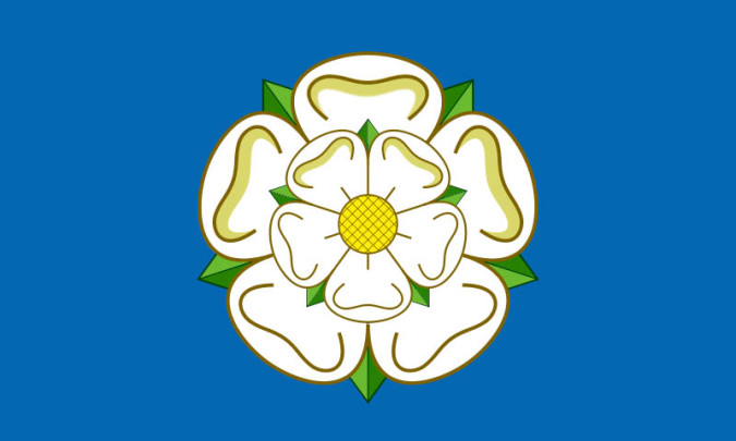 The flag of Yorkshire