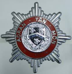 Anglesey Fire Brigade Badge