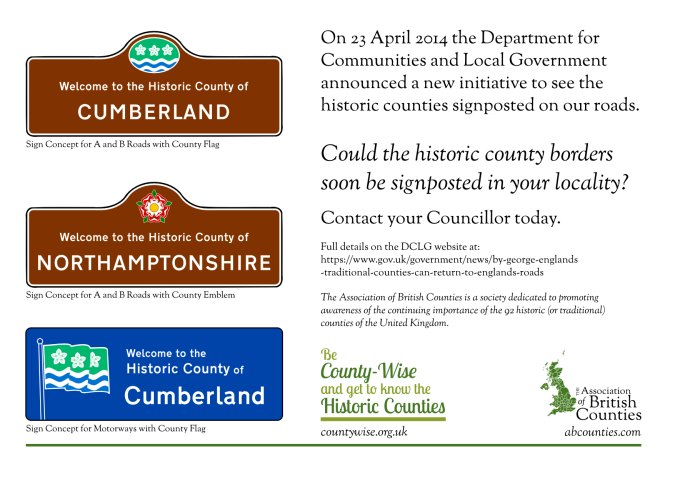 Border Signs DCLG