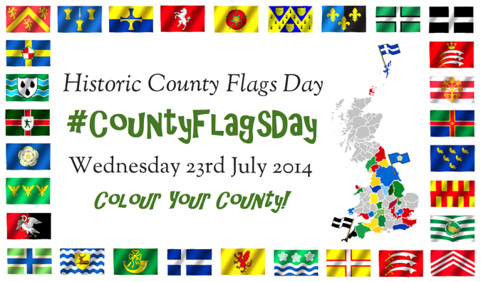 Historic County Flags Day Flyer
